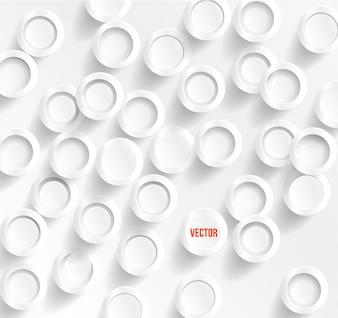 Vector circle mnogo