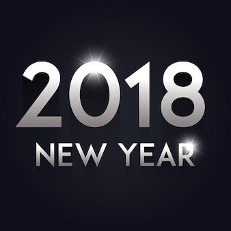 Vector New Year 2018 Background