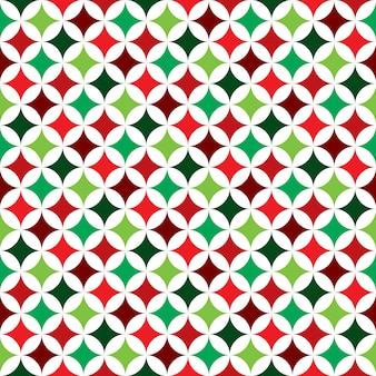 Vector seamless pattern illustration on a Christmas Holiday theme on white background. Eps 10 design.