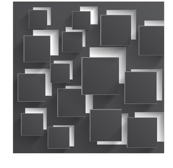 Vector square gray