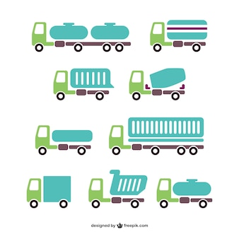 Vector trucks pack