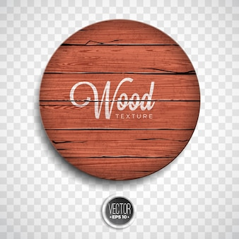 Vector wood texture background design. Natural dark vintage wooden illustration with old style board on transparency background