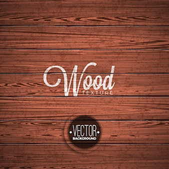 Vector wood texture background design. Natural dark vintage wooden illustration.
