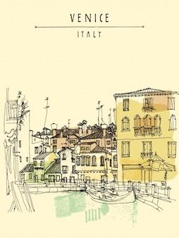 Venice background design