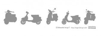 Vespa motorbike
