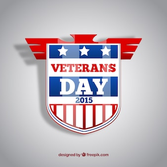 Veterans day logotype