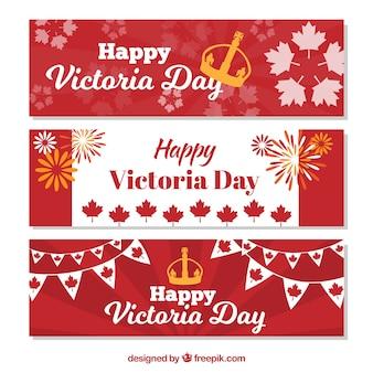 Victoria day banner