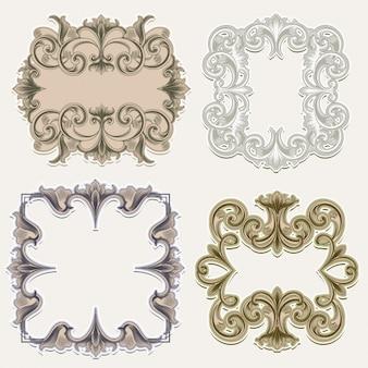Victorian frames pack