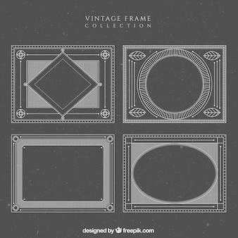 Victorian vintage frames set