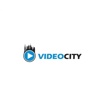 Video city logo template