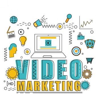 Video marketing background