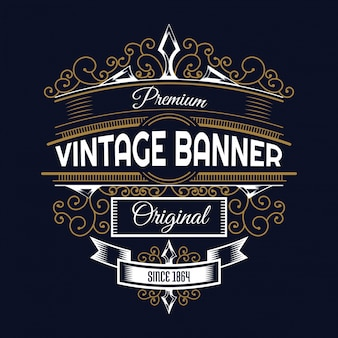 Vintage background Design