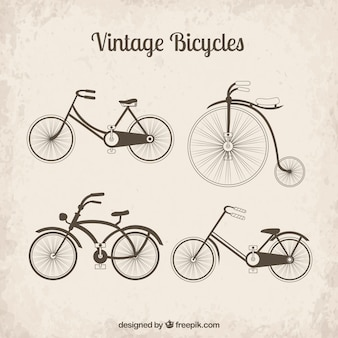 vintage bicycles collection