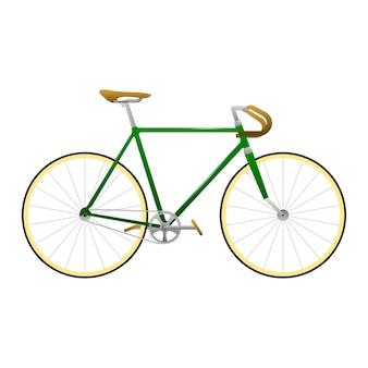 ビンテージバイクのベクトル