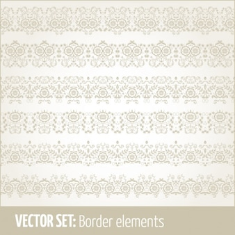 Vintage borders collection