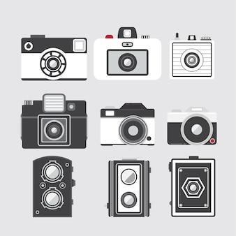 Vintage cameras design