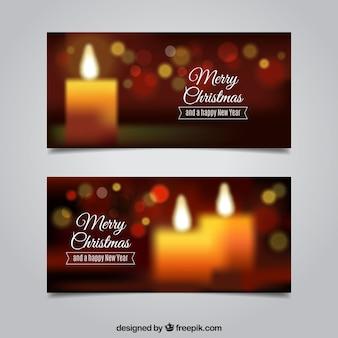 ヴィンテージクリスマスバナー