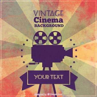 Vintage cinema background