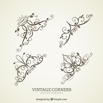 Vintage cornes