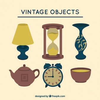 Vintage decorative objects