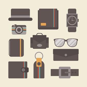 Vintage elements collection