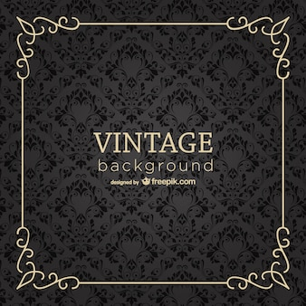 Vintage frame background