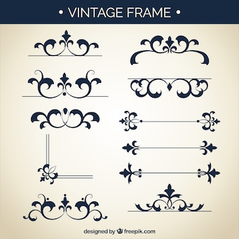 Vintage frames resources
