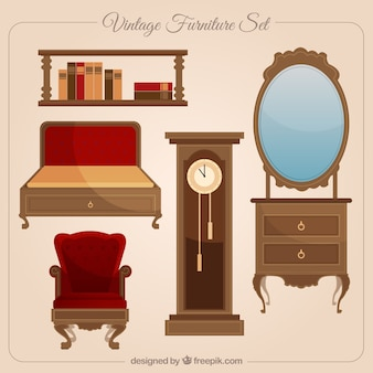 Vintage furniture collection