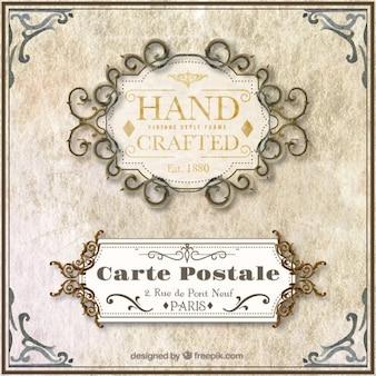 Vintage Hand Crafted Frame
