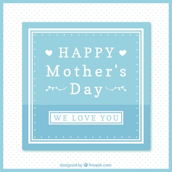 Vintage happy mother's day background