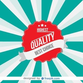 Vintage High Quality Badge Design