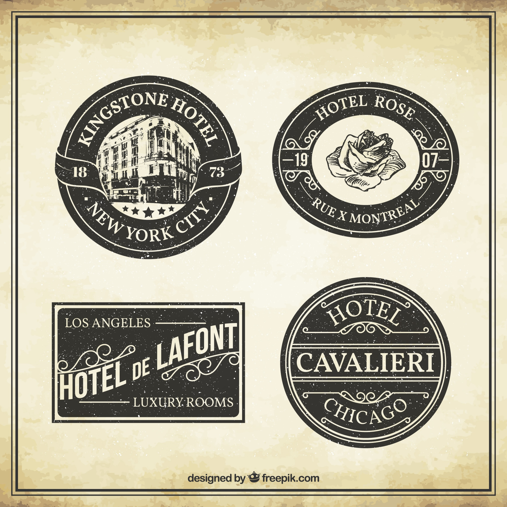 Отель Vintage Labels Collection