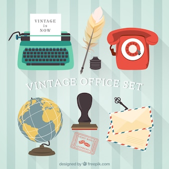Vintage office set