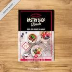 Vintage pastry brochure