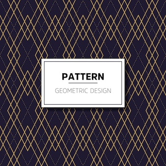 Vintage pattern with lines