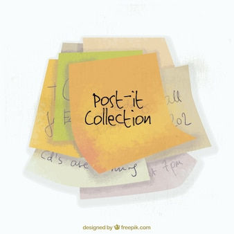 Vintage post-it collection