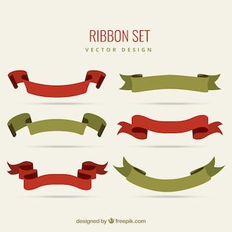 Vintage ribbon set