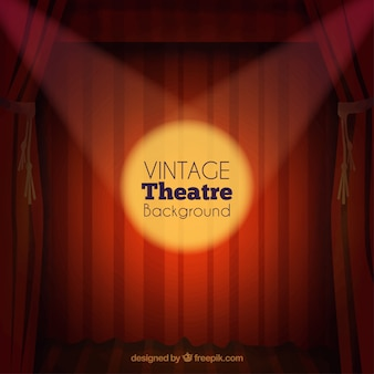 Vintage theatre background