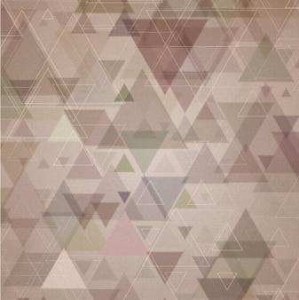 Vintage Triangular Background