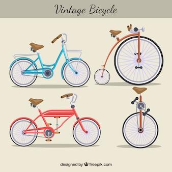 Винтажное разнообразие велосипедов