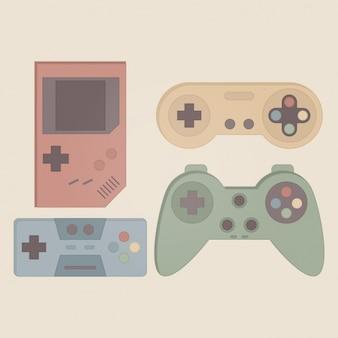 Vintage videogames collection