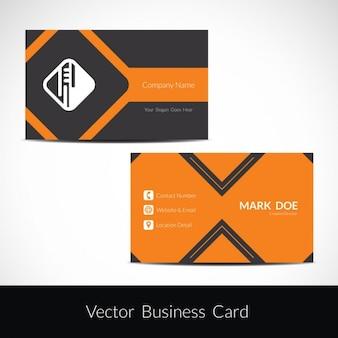 Visiting card modern design