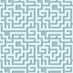 Volumetric maze pattern
