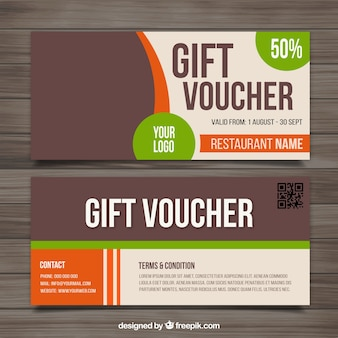 Voucher for food outlets