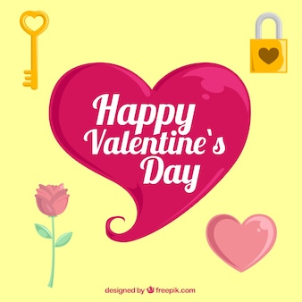 VValentine day things pack