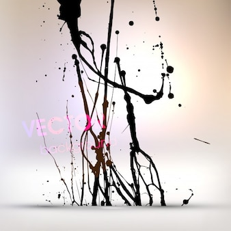 Wallpaper horizontal silhouette chinese flowers