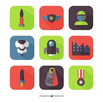 Warfare icons