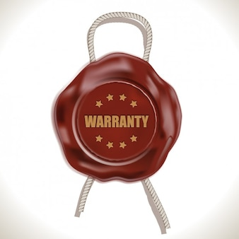 Warranty wax seal