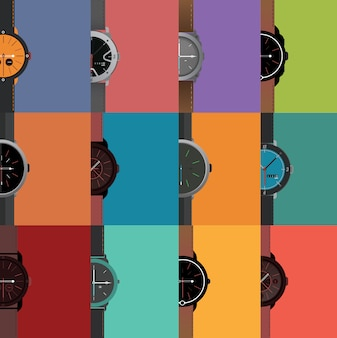Watch designs collection