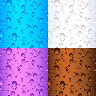 Water drop backgrounds